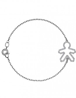 "bracelet with the boy pendant ""Circuit"""