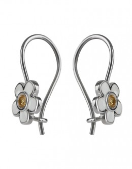 """Flowers"" earrings for girls"