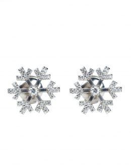 Earring snowflakes
