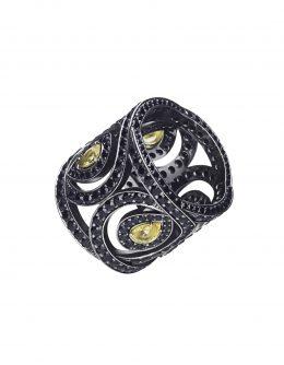Кольцо LACE black