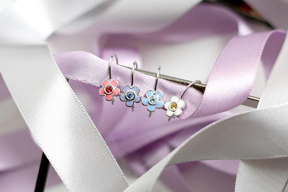 Детская коллекция сережек GEOMA Jewelry