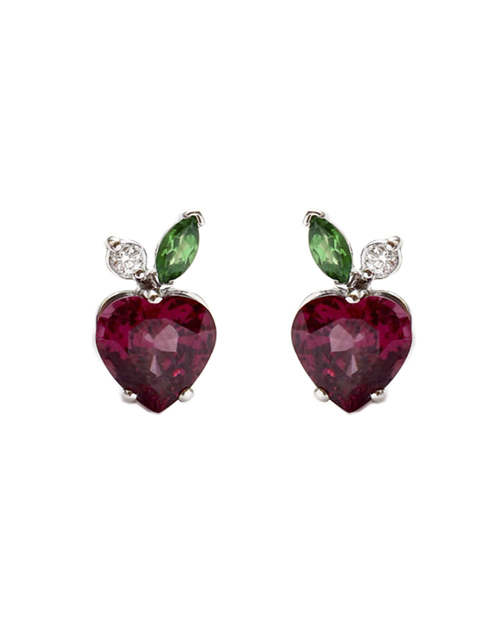 "EARRINGS ""STRAWBERRIES"""