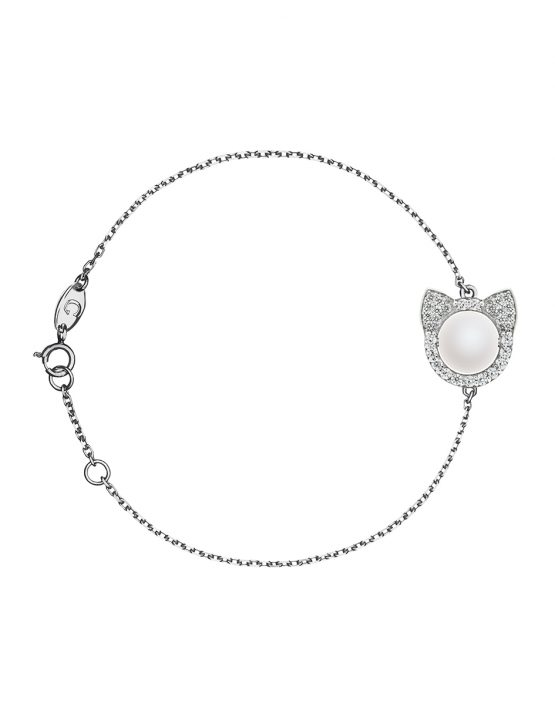 "BRACELET ""CATS"" WITH DIAMONDS"