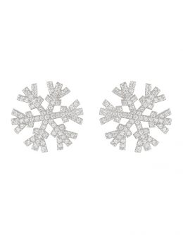 "EARRINGS ""SNOWFLAKES"" (B)"