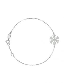 "BRACELET ""SNOW"" WITH WHITE DIAMONDS"